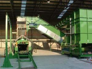 Planta De Triaje Con JS-800VL-60 3